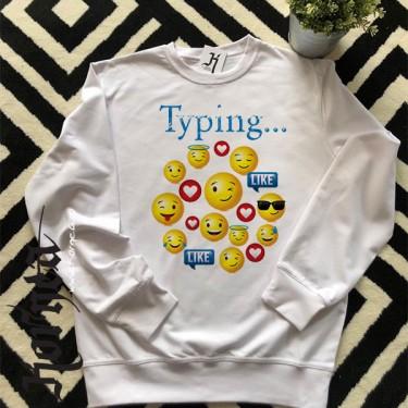 Bluza Typing