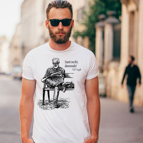 Tricou - Sunt vechi, domnule!