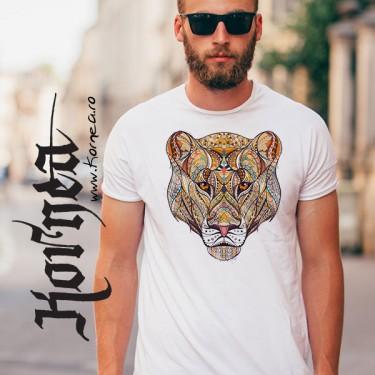 Tricou - Tigru colorat