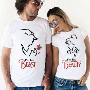 Set Tricouri - Beauty and the beast