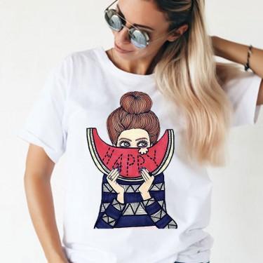 Tricou -Fata cu lubenita