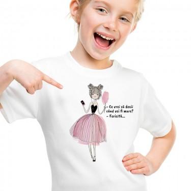 Tricou - Fetita fericita