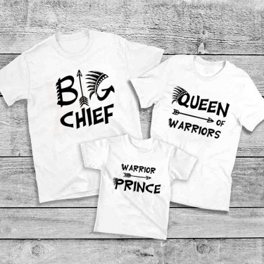 Set Tricouri familie - Chef, Queen, Prince