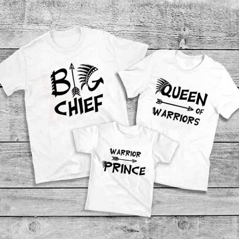 Set Tricouri familie - Chef, Queen, Prince