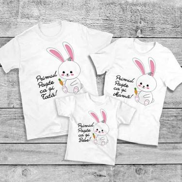 Set Tricouri familie - Primul Paste impreuna