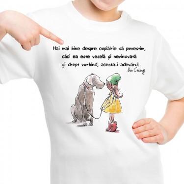 Tricou - Despre copilarie