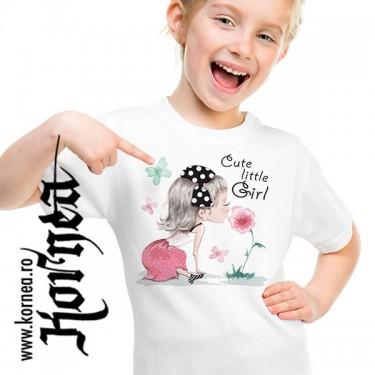 Tricou - Cute little girl