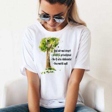 Tricou - Sfaturi de la un copac