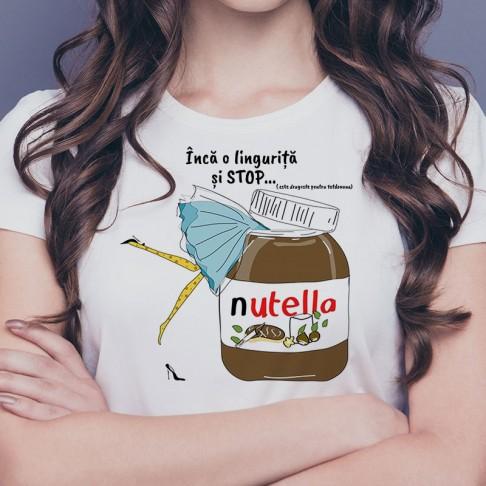 Tricou -Nutella, dragostea mea