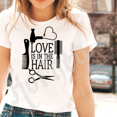 Tricou - Love is in the hair