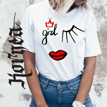 Tricou - Fashion girl 2