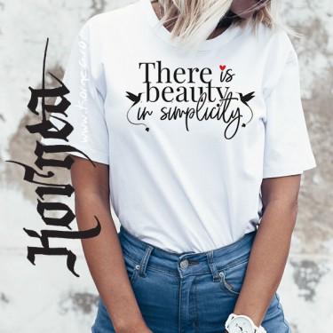 Tricou - Frumusete in simplitate