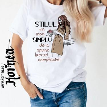 Tricou - Stilul simplu