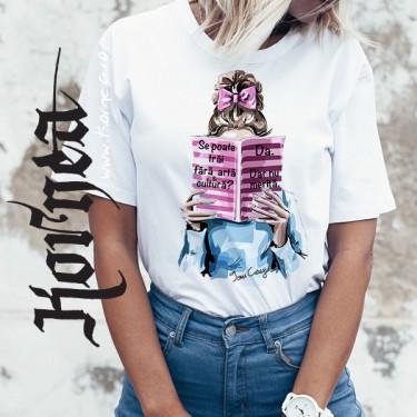 Tricou - Nu fara arta si cultura