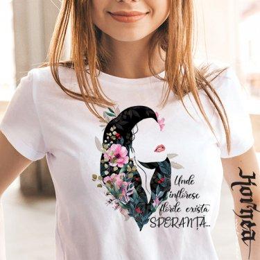 Tricou -Flori si speranta
