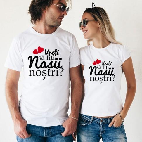Set Tricouri - Vreti sa fiti nasii nostri?