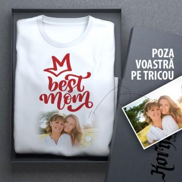 Tricou - cea mai buna mama + poza