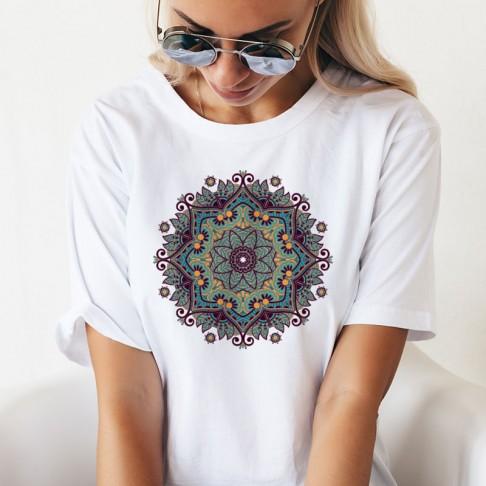 Tricou - Mandala colorata