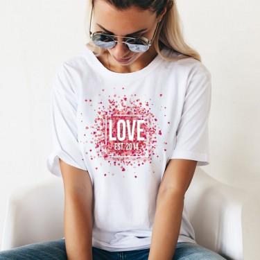 Tricou - LOVE si anul preferat